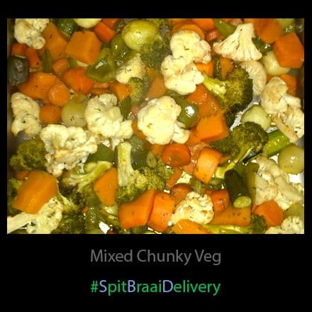 mixed chunky veg