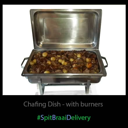 chafing dish with burners
