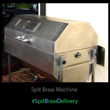 Spitbraai machine