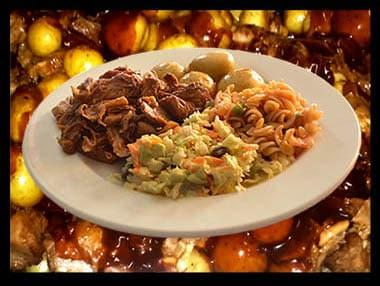 spit braai takeaway combo meal with MrD Food
